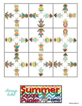 SUMMER: Summer Activities, Summer Centers, Summer Critical Thinking