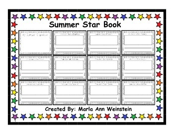 Summer Star Book
