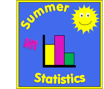 Summer Statistics - tally & bar charts.