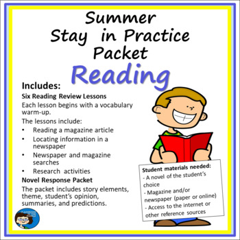 Summer Stay in Practice Packet - Reading