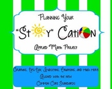 """Summer """"Stay""""cation for End of Year Math Project aligned with Common Core \"""