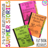 Summer Stories Comprehension Flip Book Activities- 2nd & 3
