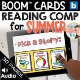 Summer Stories Reading Comprehension Set