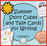 Summer Story Cubes and Task Cards for Writing