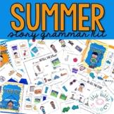 Summer Story Grammar Kit (including BOOM Cards)