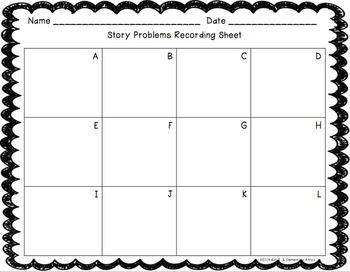 Summer Story Problem Task Cards (Addition, Subtraction, Multi-step)
