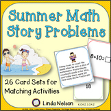 Summer Addition and Subtraction Word Problems