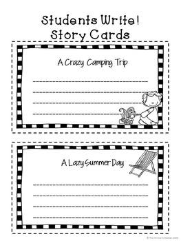 Summer Story Starters