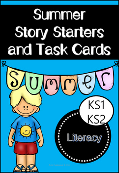 Summer Story Starters and Task Cards
