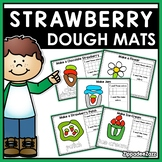 Summer Strawberry Play Dough Mats Activities