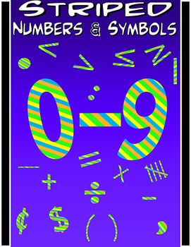 Math Numbers Clipart Free