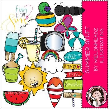 Summer Stuff clip art - Melonheadz Clipart