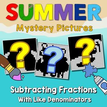 Summer Subtracting Fractions With Like Denominators
