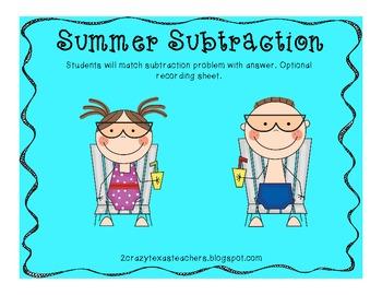Summer Subtraction