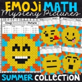 Summer Subtraction Color by Number | Summer Subtraction Practice