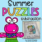 Summer Subtraction Puzzles!