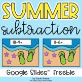 Summer Subtraction for Google Slides™