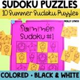 Summer Sudoku   Distance Learning