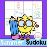 Summer Sudoku Math Center