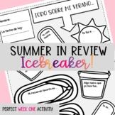 Summer Summary Icebreaker