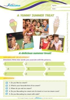 Summer - A Yummy Summer Treat - Grade 3