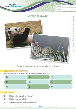 Summer - Visiting Ocean Park - Grade 4