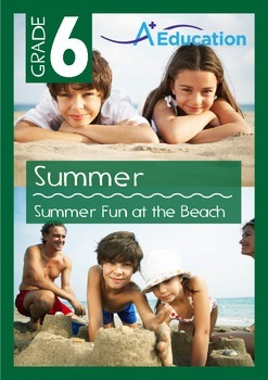 Summer - Summer Fun at the Beach - Grade 6