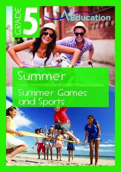 Summer - Summer Games And Sports - Grade 5