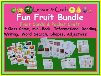 Fruit Fruit Fruit Activity Bundle * Informational Reading