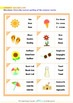 Summer - Summer Vocabulary - Grade 2