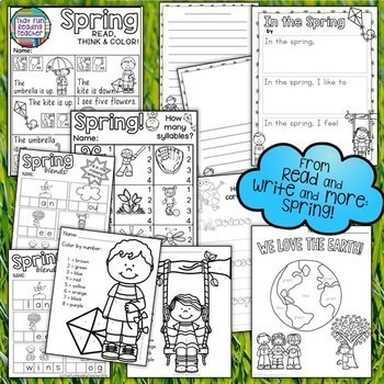 Spring writing activities!