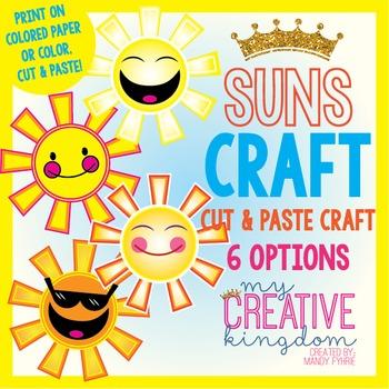 Summer Sun Craft