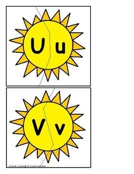 Summer Sun Letter Recognition Centers