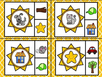 Summer Sun Literacy & Math Pack ~ Beginning Sounds, Counting, Number Recognition