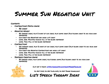 Summer Sun Negation Unit