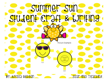 Summer Sun Student Craft