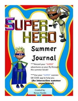 Summer: Super Hero Interactive Journal