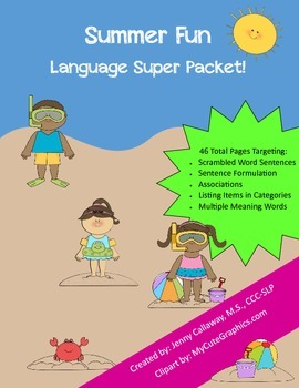 Summer Super Language Packet #1!