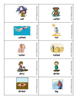 Summer Superlatives and Comparatives FREEBIE!
