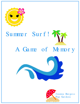 Summer Surf! A Game of Memory