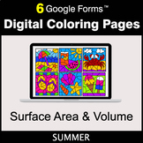 Summer: Surface Area and Volume - Google Forms | Digital C