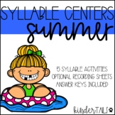 Summer Syllable Centers