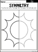 Summer Symmetry Worksheets