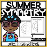 Summer Symmetry Drawing Activity for Art and Math