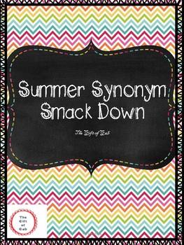 Summer Synonym Smack Down
