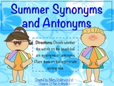 Summer Synonyms and Antonyms