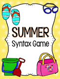 Summer Syntax Games