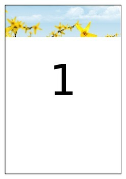 Summer Table Quiz - Labels for Tables