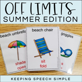 Off Limits - An Expressive Language Game Summer Edition