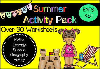 Summer Take Home Activity Pack
